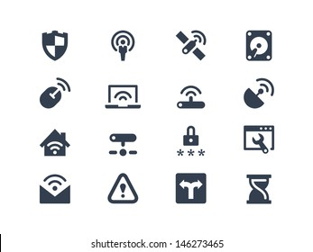 Wireless network icons