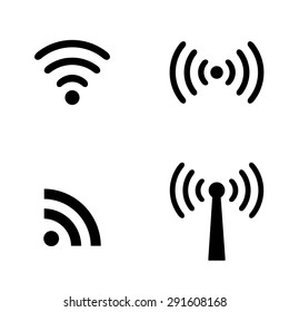 Wireless sign set