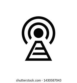 wireless technology web icon vector