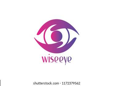 Wise Eye, Eye Logo