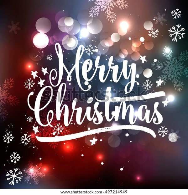 Wishing You A Merry Christmas.Wish You Merry Christmas Happy New Stock Vector Royalty