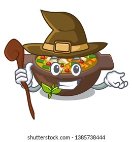 Witch fried minestrone in the cup character