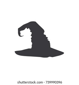 Witch hat icon, vector illustration design. Halloween collection.