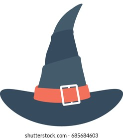 Witch Hat Vector Icon