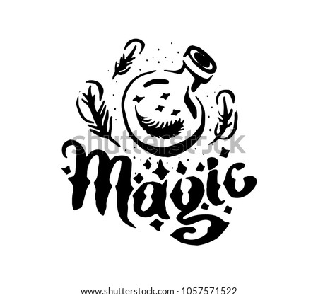 Witch and magic item