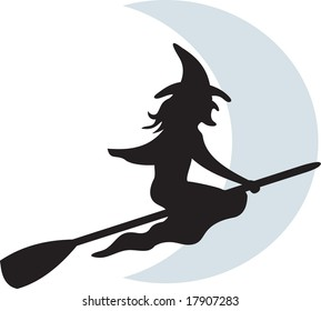witch, vector