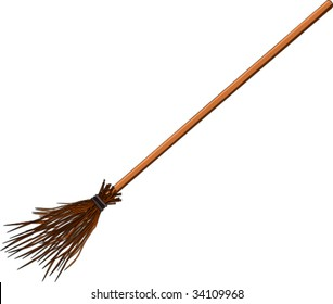witches broom stick