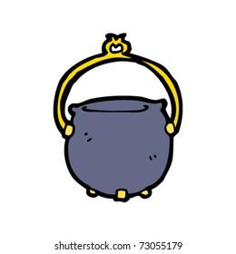 witch's cauldron cartoon