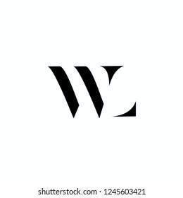 WL Letter Logo Design