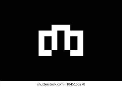 WM letter logo design on luxury background. MW monogram initials letter logo concept. WM icon design. MW elegant and Professional letter icon design on black background. M W MW WM