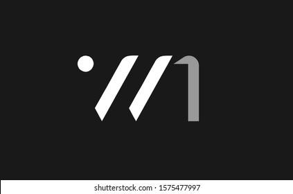 WN Letter Logo Design Template Vector