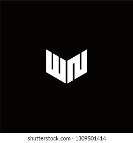 WN Logo Letter ininial Designs Templete