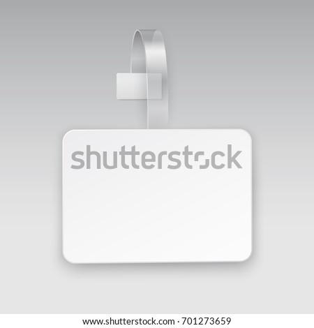 Wobbler Sales Point Tag Mock Up Stock Vector Royalty Free