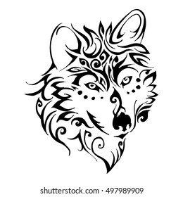 ae29ecce9 Tribal Wolf Images, Stock Photos & Vectors | Shutterstock