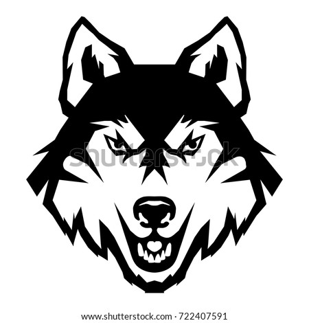 wolf logo stock vector royalty free 722407591 shutterstock