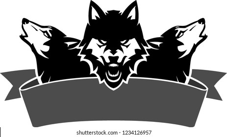 Wolf Head Howling Images Stock Photos Amp Vectors