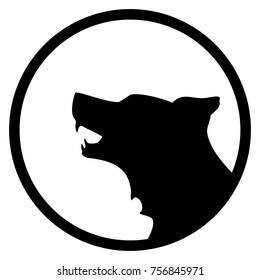 Wolf Silhouette Vector
