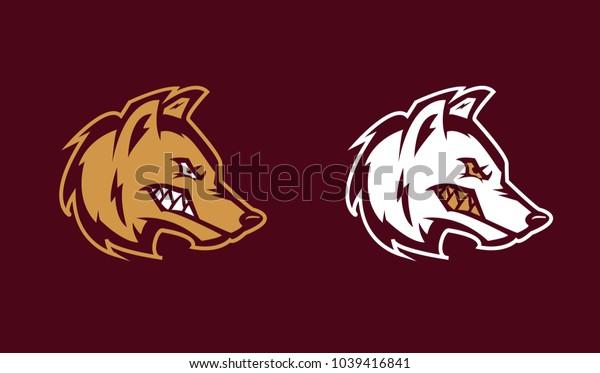 wolf Vector logo / icon mascot illustration