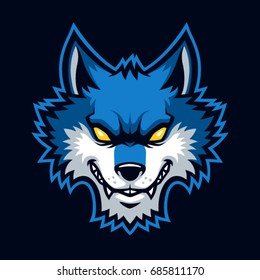 Wolves sign and symbol logo vector.