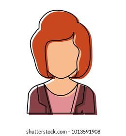 woman avatar design