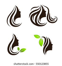 Woman Beauty and Spa Salon Logo Design Collection