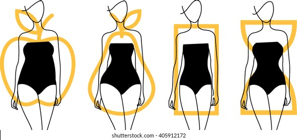 Image result for free clip art on body shape