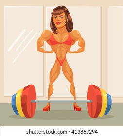 Cartoon Strong Woman Images, Stock Photos & Vectors | Shutterstock