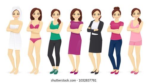 Woman day set