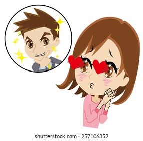 Royalty Free Love At First Sight Images Stock Photos Vectors