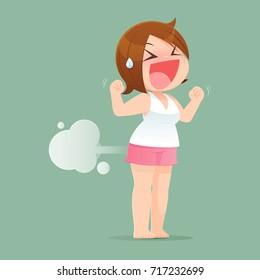 Girl Farted Images, Stock Photos & Vectors | Shutterstock