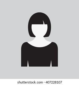Woman icon.