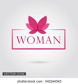 WOMAN LOGO / ICON