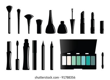 Woman Makeup set