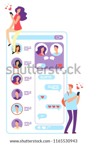 Application dating website
