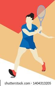 a woman playing squash tennis