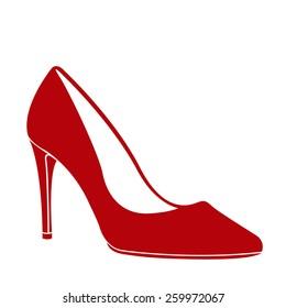 07be5651159 High Heel Shoe Silhouette Images, Stock Photos & Vectors | Shutterstock
