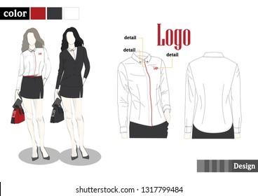 woman shirt  Uniform
