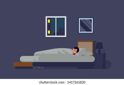 Sleeping Cartoon Images Stock Photos Amp Vectors Shutterstock