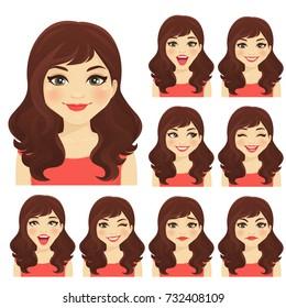 Womans emotion