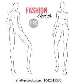 Fashion Figure Images, Stock Photos & Vectors   Shutterstock