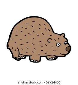 wombat cartoon