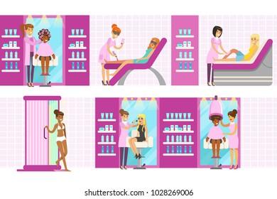 Beauty Parlor Images, Stock Photos & Vectors   Shutterstock