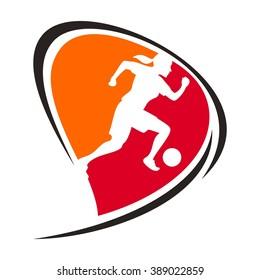women football logo.