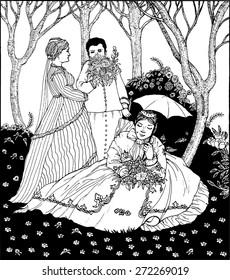 The Women in the Garden