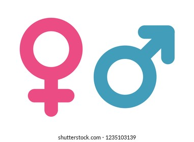 Women and Men Symbol. Male Sign. Vector Icon.
