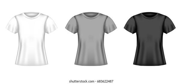 mens vector shirt templates black white stock vector royalty free