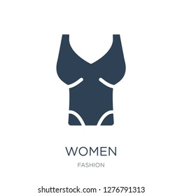 women sleeveless shirt icon vector on white background, women sleeveless shirt trendy filled icons from Fashion collection, women sleeveless shirt vector illustration