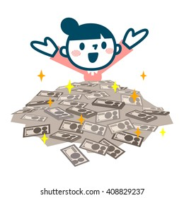 Women who give a lot of money