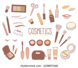 Women's cosmetics set