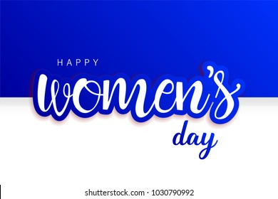 Women's Day - 8 March. International Woman's Day. Use as icon, poster, brochure, card, social media post. Compatible with jpg, png, eps, ai, cdr, svg, pdf, ico, gif.